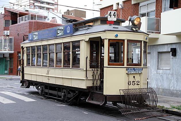 Tram Ride Buenos Aires