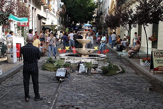 Film Set Buenos Aires