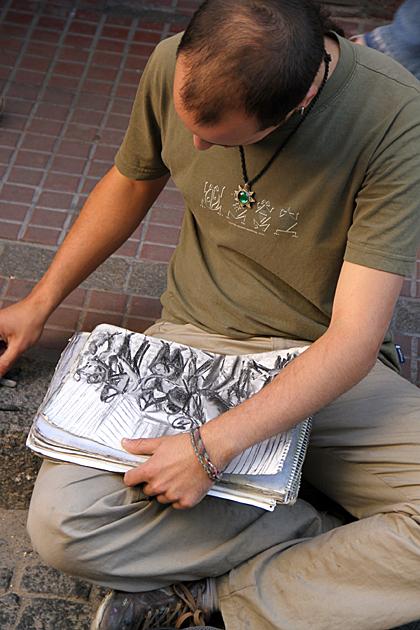 Street Artist Buenos Aires