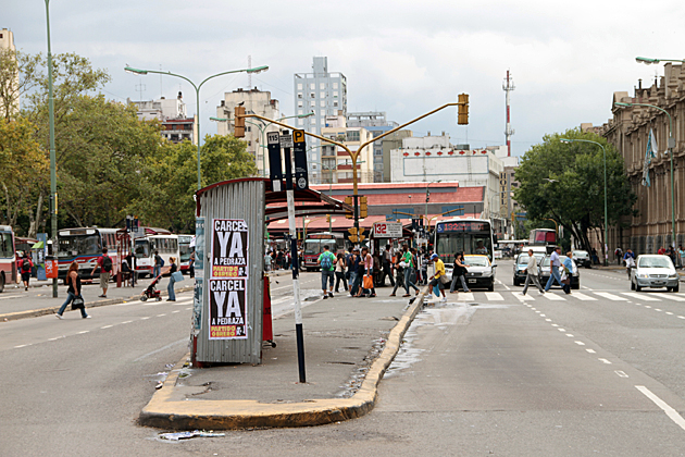 Buenos Aires Bus Stop
