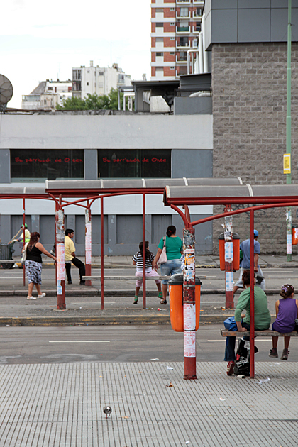 Bus Stop Buenos Aires