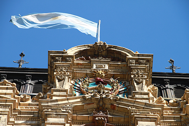 Sun Argentina Flag