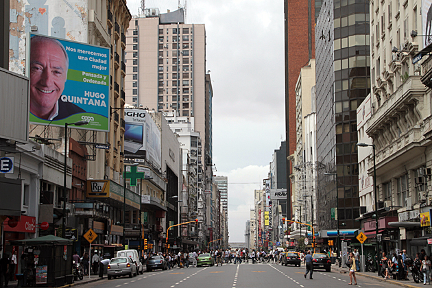 Main Street Buenos Aires