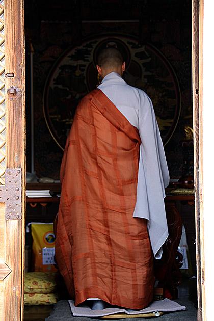 Beomeosa-Monk