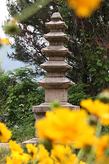 Korean Stone Tower