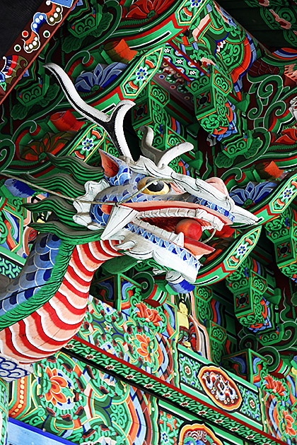 Temple Dragon Korea