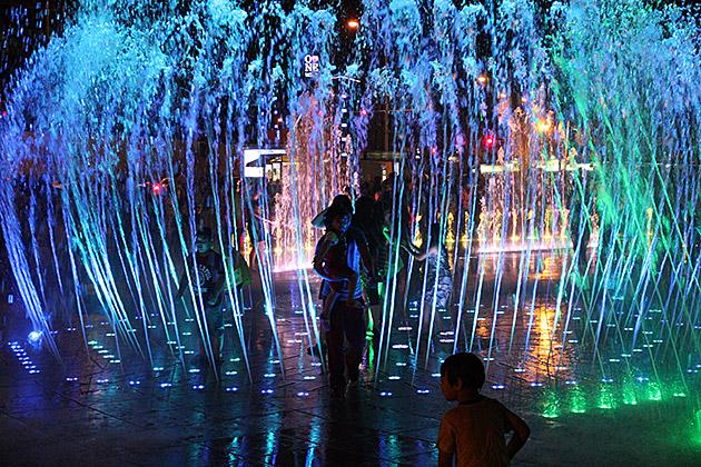 Springbrunnen Busan