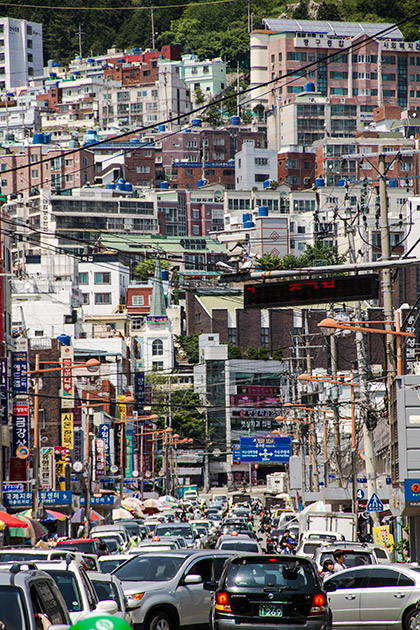 Crazy Traffic Busan