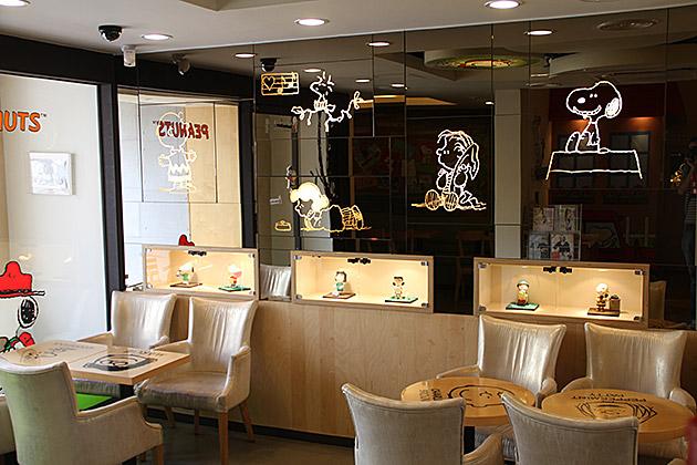 The Peanuts Coffee Shop