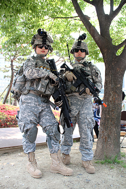 Cosplay US Army