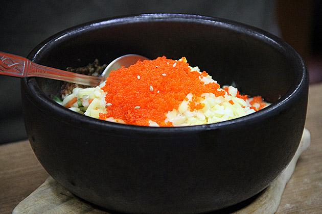 Fish-Egg-Bibimbap