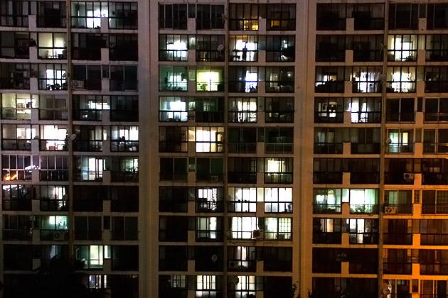 Night Apartment in Busan