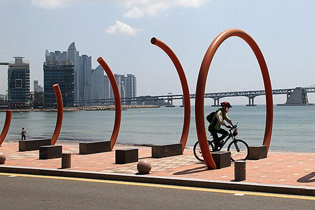 Biking Busan