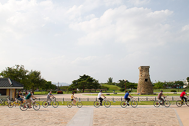 Biking-in-Gyeongju