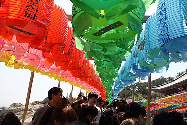 Lantern Festival in Busan