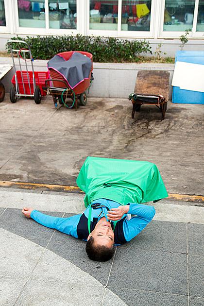 Snoozing Korea