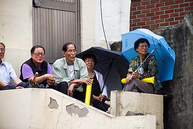 Korean In The Rain