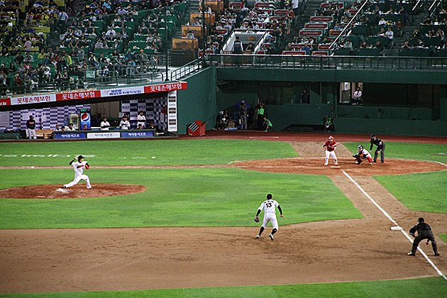 Lotte Giants Pitch