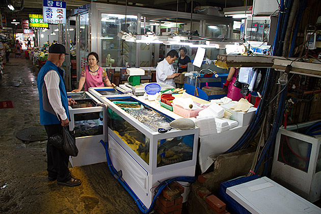 Oncheon-Fish-Market