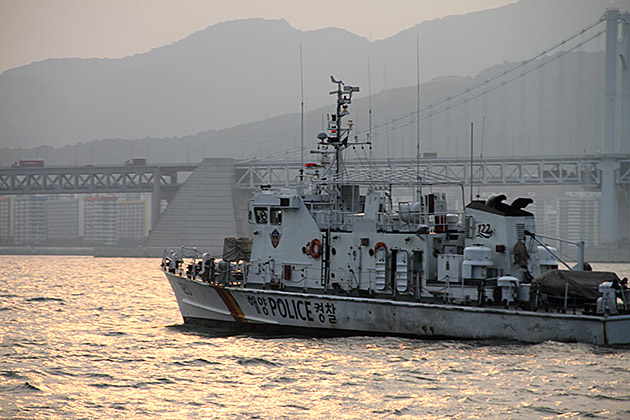 Police Boat Busan