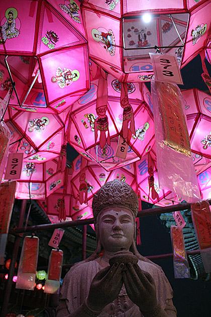 Korean Buddha Offering