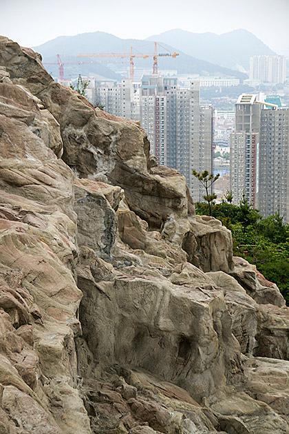 Fake Mountain Korea