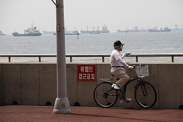 Biking in Korea