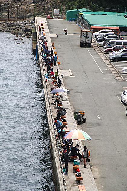 Fishing in Korea