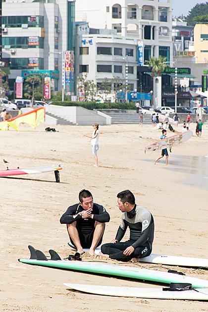 Korean Surfer