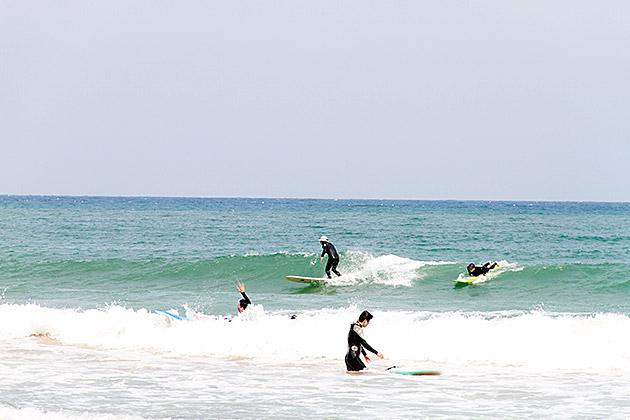 Surfing in Korea