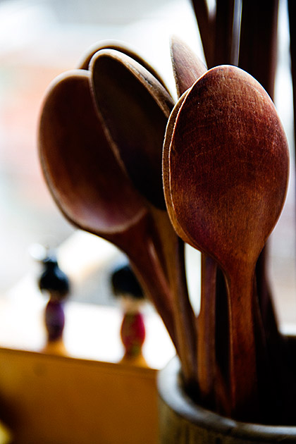 Japanese Wooden Spoon