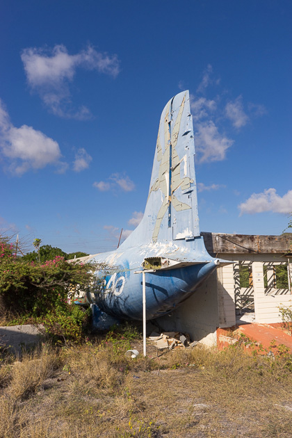Abandoned Aruba Airlines