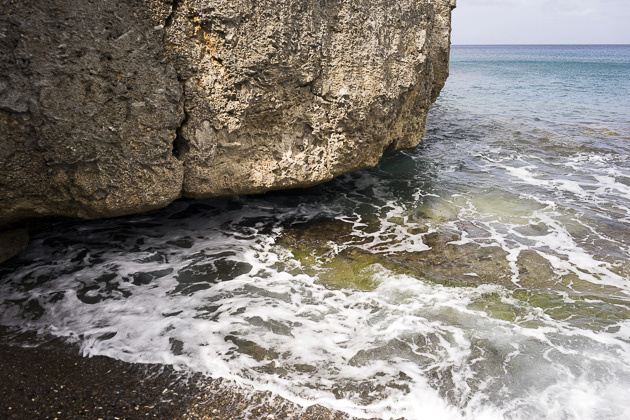 Santu Pretu Black Sand Beach