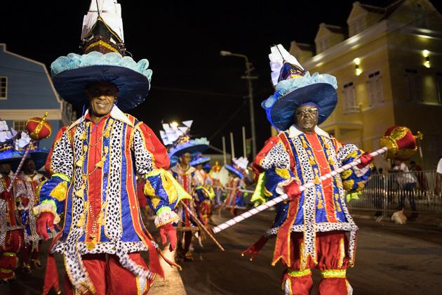 Carnival Farewell Parade Curacao