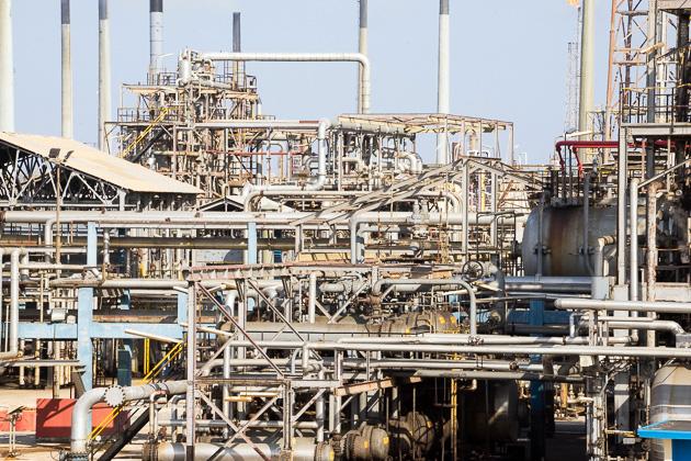 La Isla Refinery Curacao