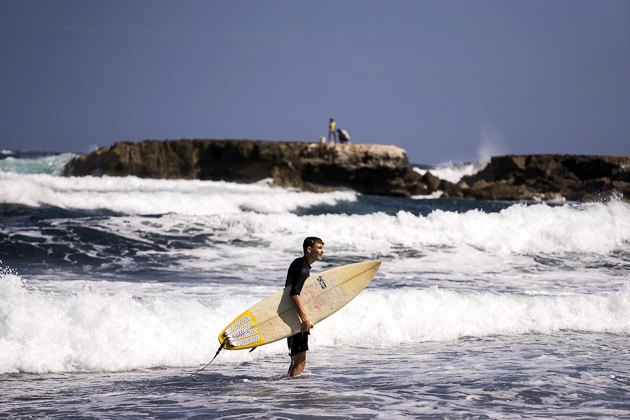 Surf Championship at Playa Kanoa