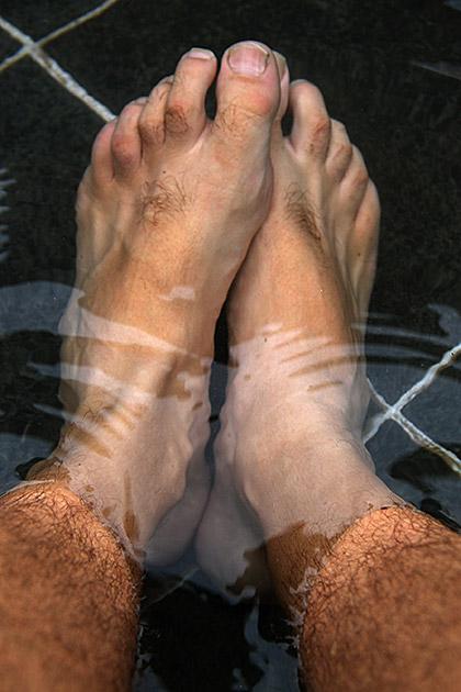 Man Feet