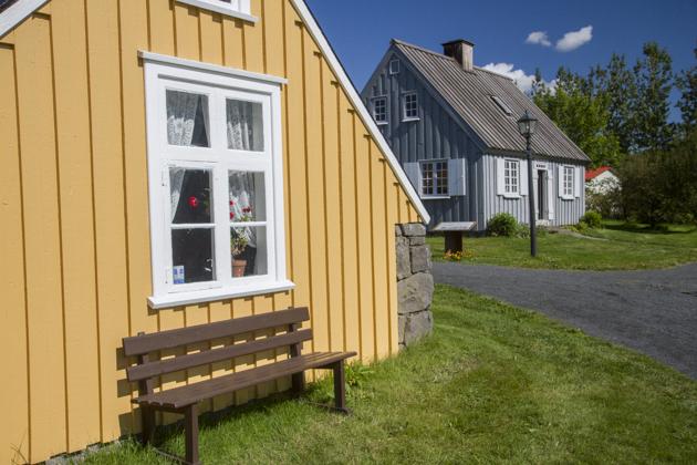 Old Houses Reykjavik