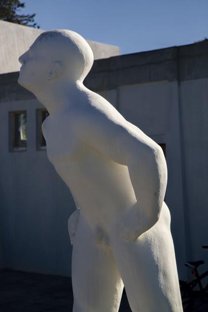 Looking Ásmundur Sveinsson Sculpture
