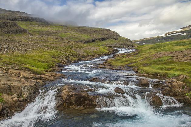Blue River Iceland