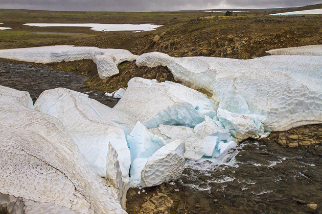 Packed Ice Ricer Iceland
