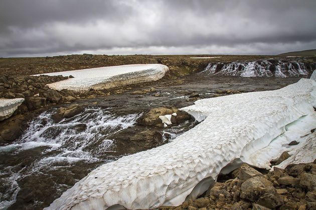 Glacier Ice River Iceland