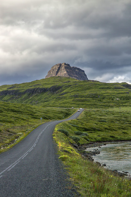 Country Road Iceland