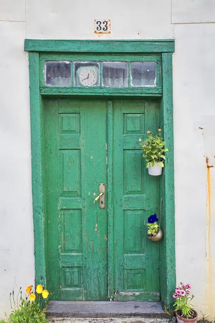 Icelandic Old Doors
