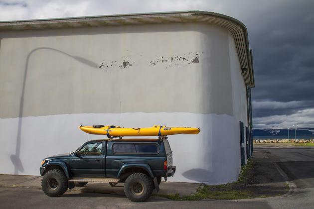 Kayaking Ísafjörður
