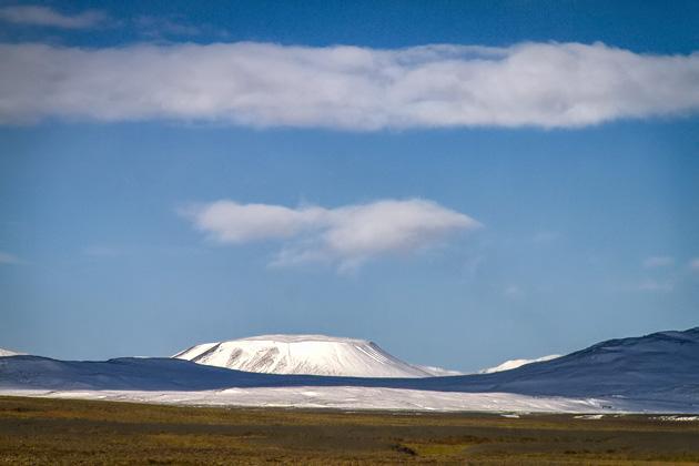 Plateau Mountain Snow