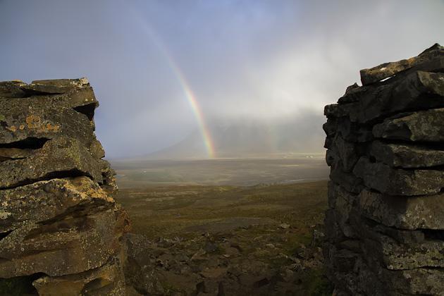 Rainbow Gate Iceland