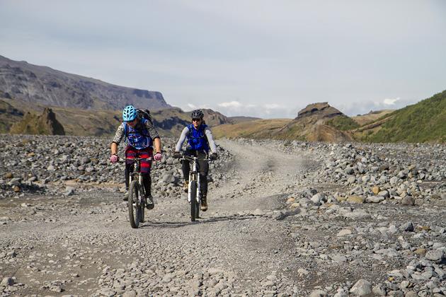 Biking Þórsmörk