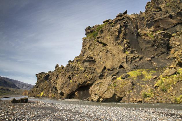 Þórsmörk River Bed