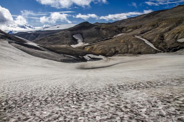 Snow Volcano Iceland